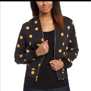 Alternative Jackets & Blazers - Alternative Clothing Peach Bomber Jacket