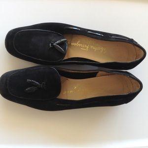 Genuine Ferragamo Tassel Loafers