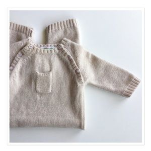 Bonpoint Other - Bonpoint 100% cashmere baby romper