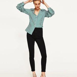 NWT! Zara High Waist Skinny Trouser Size 4