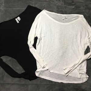 Divided Tops - Divided H&M long sleeve lot XS