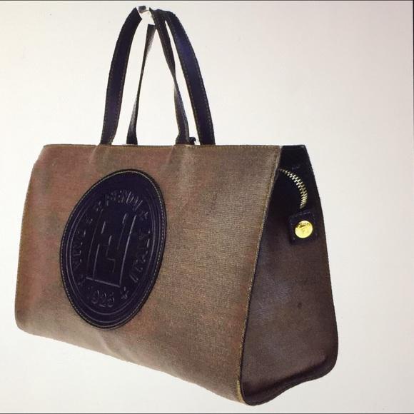 26885c490e Fendi Handbags - 🆕 Fendi Roma Italy 1925 Logo Tote Hand bags