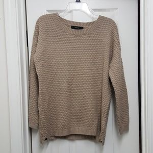 Forever 21 Sweater Tan Large Like New!
