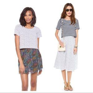 JOA Dresses & Skirts - joa • 2-pc high waist midi skirt + crop top set