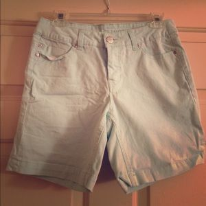 Liverpool Jeans Company Pants - Liverpool Sky Blue Shorts