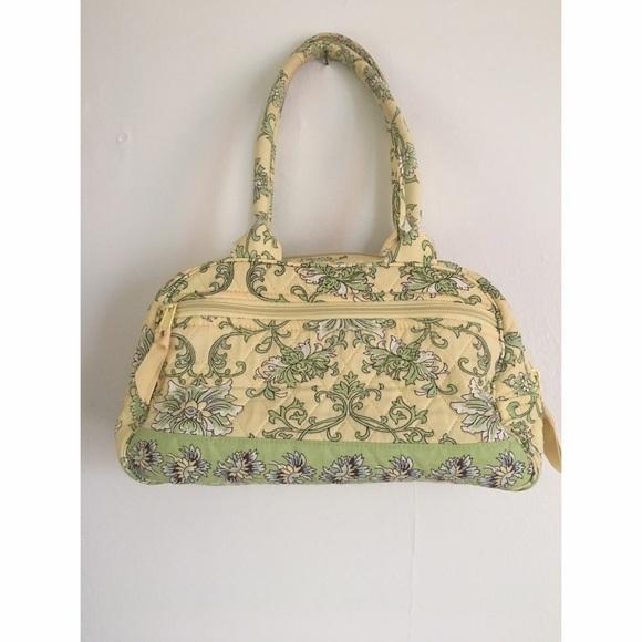 Lemon Hill Handbags - Yellow Lemon Hill Quilted Satchel