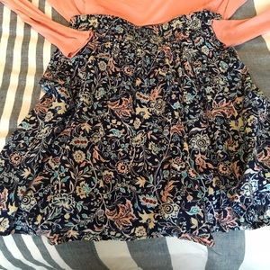 Old Navy Skirts - Floral Skirt