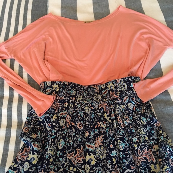 Piko 1988 Tops - Salmon Piko Top