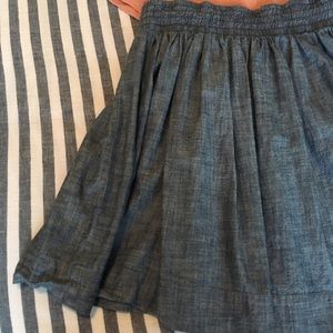 Banana Republic Chambray Skirt