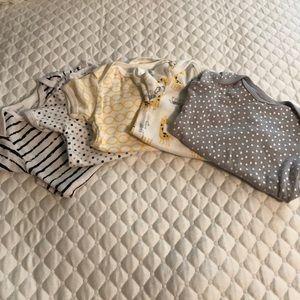 Rene Rofe Other - 5 Baby Boy Short Sleeve Onesies