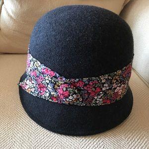 San Diego Hat Company Accessories - Gray/Black San Diego Hat Co cloche hat