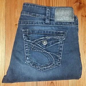 Silver Jeans Denim - Women's Silver Suki Surplus Bootcut, 33x32 EUC