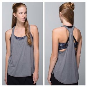 Lululemon 105F Singlet Heathered Slate