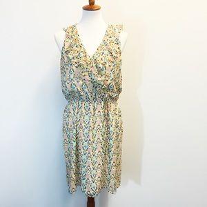 Presley Skye Silk Bird Dress