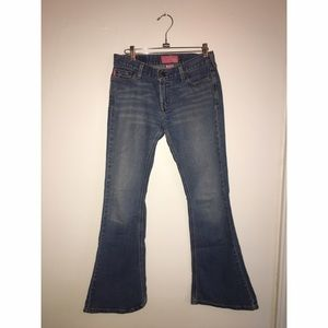 Hollister Jeans - Hollister Boot Cut Jean Sz 5 Short