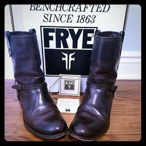 Frye Melissa Riding Spur Boots, Sz 9