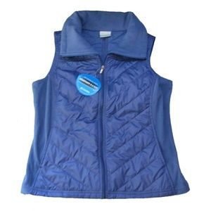 Columbia Jackets & Blazers - NWT Womens Winter Vest by Columbia Size Large