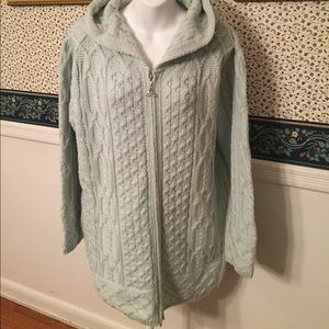 Aran Crafts Sweaters - Ireland Cable Knit Coat Sweater