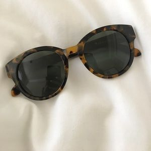 Karen Walker tortoise sunglasses