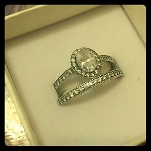Pandora ring set size 56