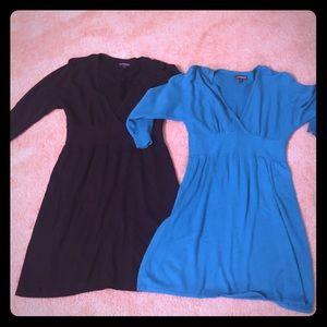 Express sweater dresses