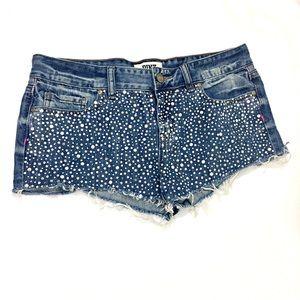PINK Victoria's Secret Pants - PINK Victoria's Secret Denim Cutoff Shorts Size 8