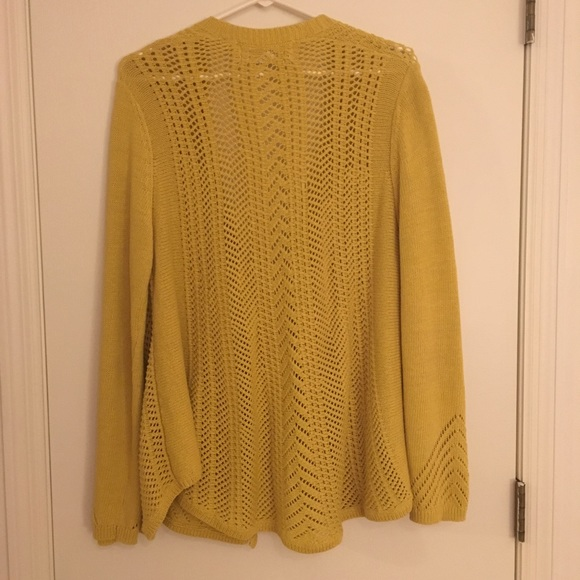 69% off Anthropologie Sweaters - Anthropologie / Rosie Neim yellow ...
