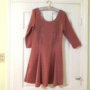 Anthropologie Dresses & Skirts - Anthropologie 3/4 Sleeve Dress w/ Scoop Back