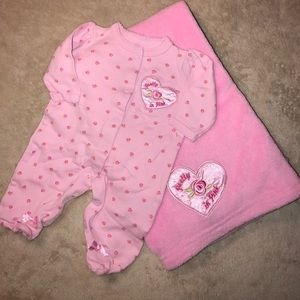 Other - Matching pajamas and blanket set