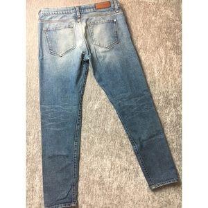 Baldwin Denim - Baldwin Distressed Light Faded Wash Skinny Jeans