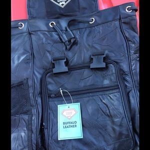 buffalo leather Other - Biker backpack