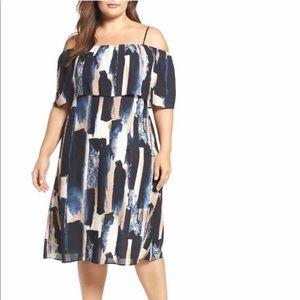 Sejour Dresses & Skirts - Sejour Off the Shoulder Dress