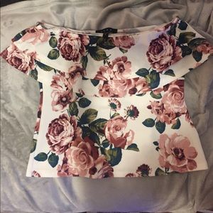 Snap Tops - NWT floral tube top!!