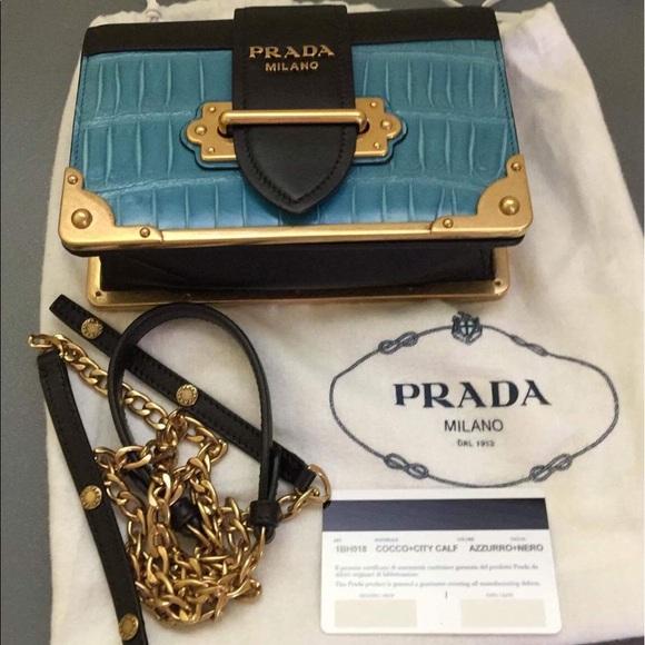 be8a513beaa4 Prada Bags | Cahier Bag | Poshmark