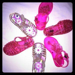 Mini Melissa Other - Jelly Sandals ❤️Bundle