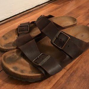 Birkenstock Shoes - Birkenstock Arizona Slide Women's