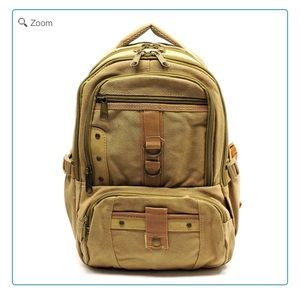 Handbags - NEW Military Canvas Backpack Medium
