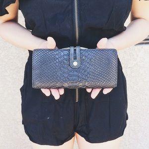 Abas Handbags - • Abas • Black Wallet