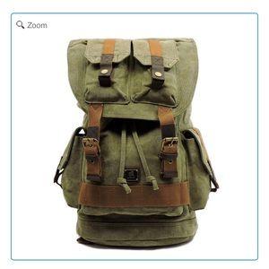 Handbags - NEW Military Canvas Hiking Backpack