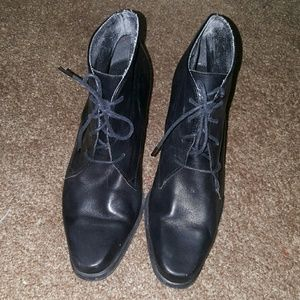 Enzo Angiolini Shoes - Vintage leather booties