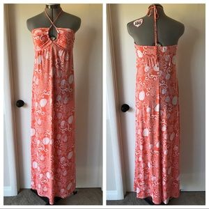 Love Stitch Dresses & Skirts - Love Stitch Convertible Strap Maxi Dress Coral