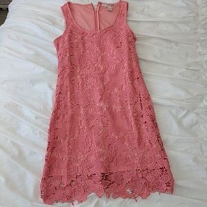 NWT Pink Lace Dress