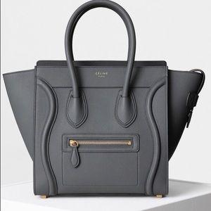 Celine Handbags - NEW Celine micro luggage bag paid $3170