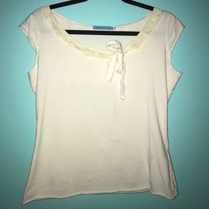 Johnny Was Tops - Johnny Was S cotton lace top