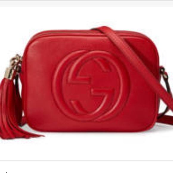 b011de07344839 Gucci Bags | Tabasco Red Disco Crossbody | Poshmark