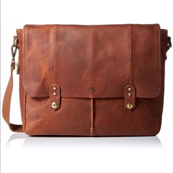 bc285379c42 Timberland Bags | Mens Walnut Hill Leather Messenger Bag | Poshmark