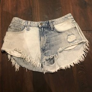 Carmar Pants - Carmar denim shorts from LF