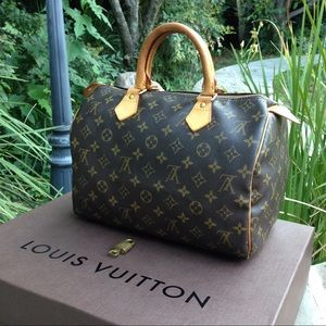 Louis Vuitton Handbags - Authentic Louis Vuitton Monogram Speedy 30