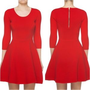 Milly Dresses & Skirts - 🆕 Milly Redd Textured Fit & Flare Dress Medium