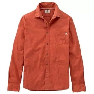 Timberland Other - Timberland Orange Essential Fit Light Flannel